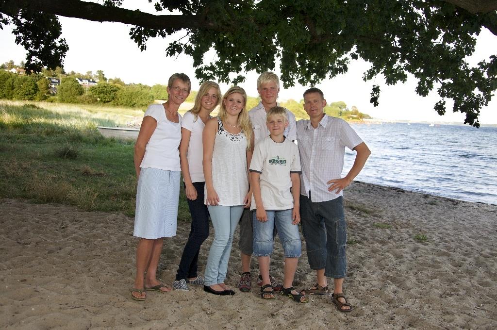 den levende familie